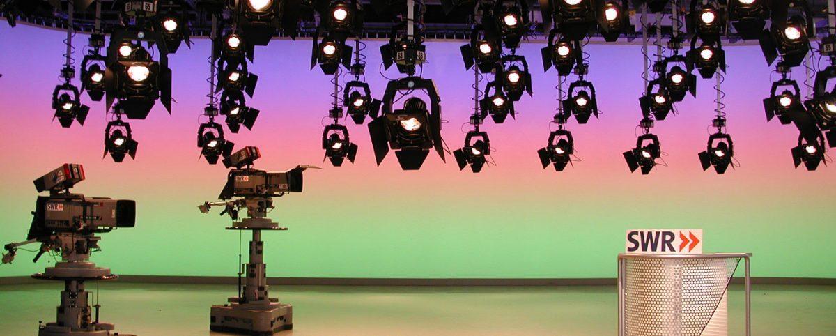 TV Studio SWR - Licht-Technik Vertriebs GmbH - Slider