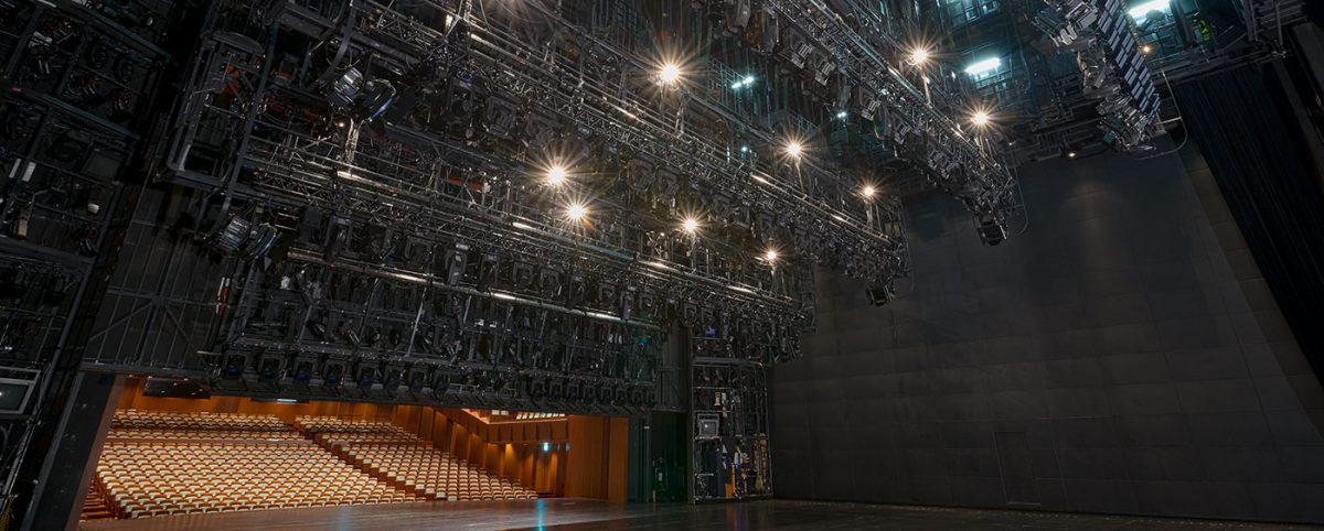 Theater - Motorbügel - Licht-Technik Vertriebs GmbH - Slider